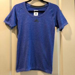 NEW Adidas | Tech Fit Prime Knit Blue Shirt